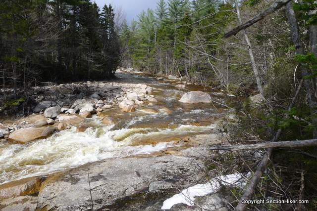 Rapids on the East Branch Pemigewasset River