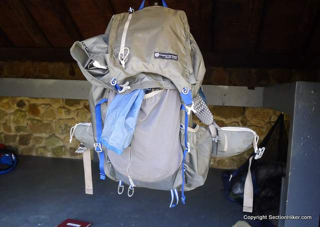 The top lid pocket on Gossamer Gear Backpacks is a great place to store small essentials that you access frequently on the trail.
