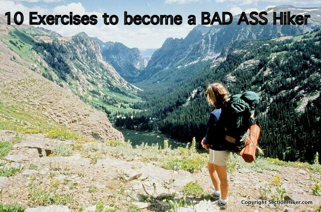 10 Exercises to Become a Bad Ass Hiker