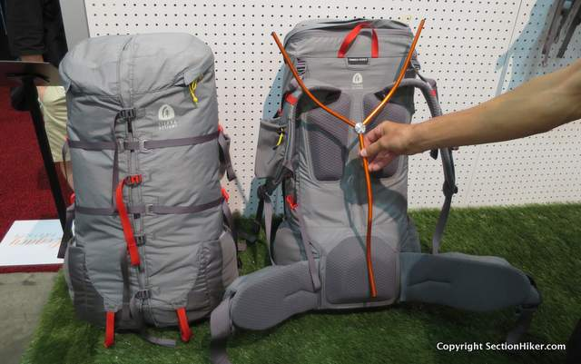 Sierra Designs Flex Capacitor Backpack in 40L and 60L