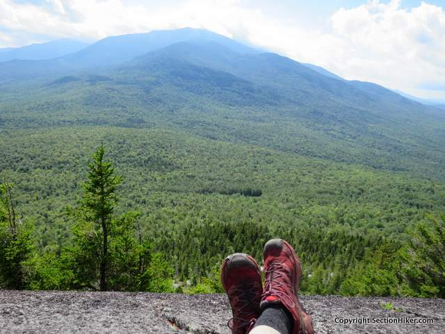 The views of Mt Madison from the Ledge Trail are some of the finest in the White Mountains