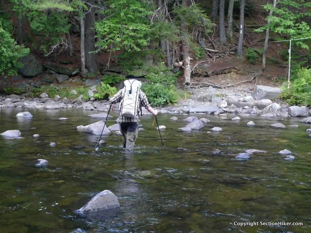 Wear well draining and quick drying trail shoes if you know your route has stream crossings