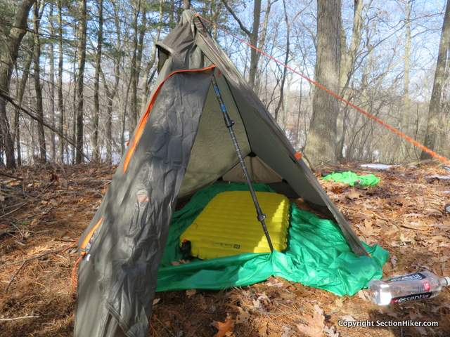 The NEMO Tensor Insulated 20S Sleeping Pad is 48 inches long and weighs 9.5 ounces