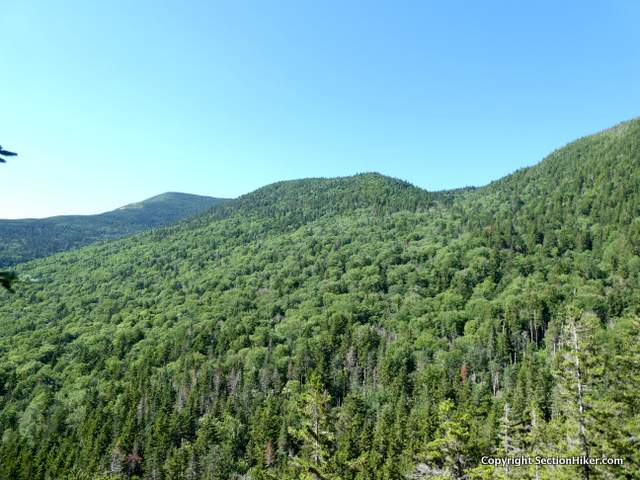 Climbing Old Speck Mountain (left)
