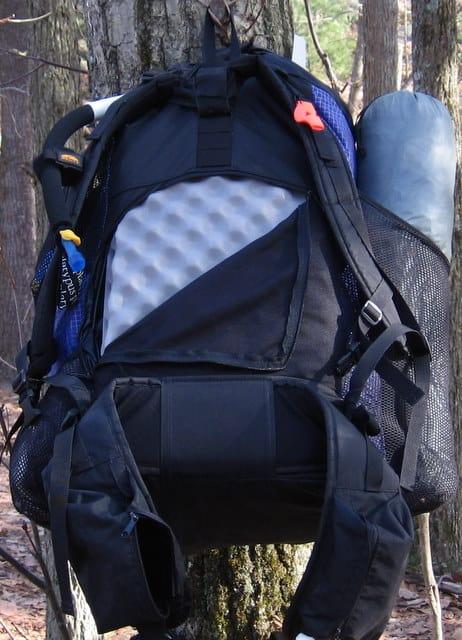 Long side tent pocket. Six Moon Designs Starlite Backpack