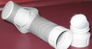 The Frontier Pro has a built in pre-filter, which preserves the filter element by removing particulates.
