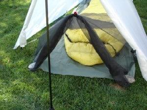 Gossamer Gear Bug Net & Gossamer Gear Bug Canopy - Section Hikers Backpacking Blog