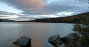 Bald Mountain Pond Sunset