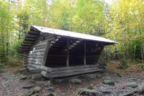 West Carry Pond Shelter, Maine Appalachian Trail