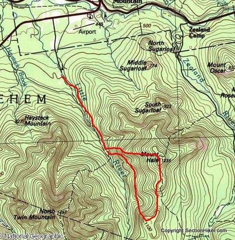 Mount Hale and South Hale Bushwhack