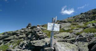 Sign Above Treeline, White Mountains