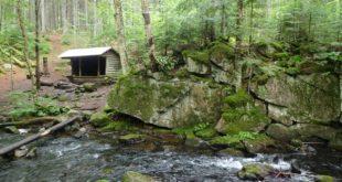 Rainbow Stream Lean-To, 100 Mile Wilderness, Maine Appalachian Trail
