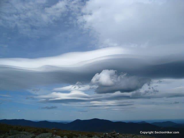 Lenticular Clouds Warn of Pending Rain or Hail