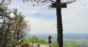 The vista from a spot along Kerns Mountain