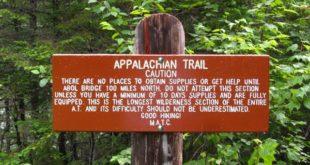 100 Mile Wilderness Warning