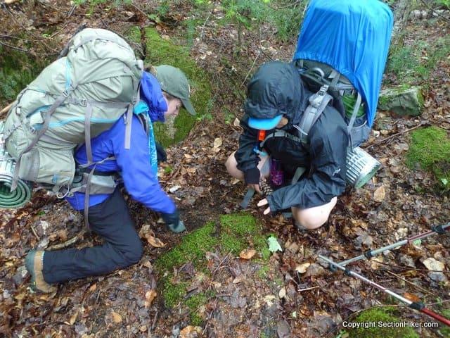 Cathole Digging Team