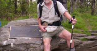 K1 at the start of the Appalachian Trail