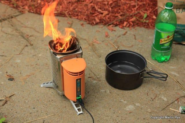 BioLite Wood Burning CampStove - BioLite CampStove - Too Good To Be True Section Hikers