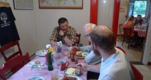 Breakfast at Shaws in Monson, Maine