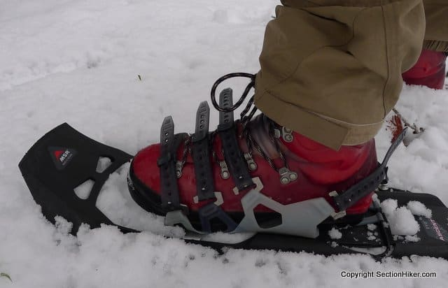 MSR Evo Ascent Snowshoe Binding