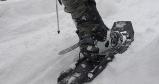 MSR Evo Ascent Snowshoe with Televator Raised