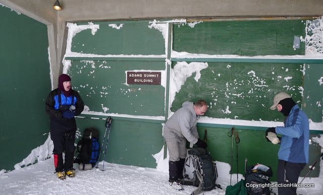 The Hiker Shelter on Mount Washington