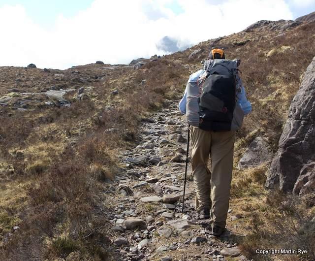Leaving Torridon - Scotland