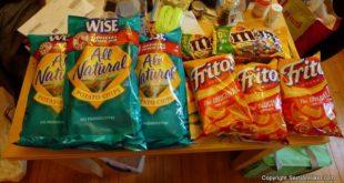 Salty. Calorically Dense Foods