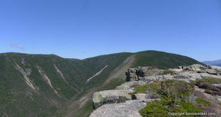 West Bond, Mt Bond, and Bondcliff Mountains (left to right)
