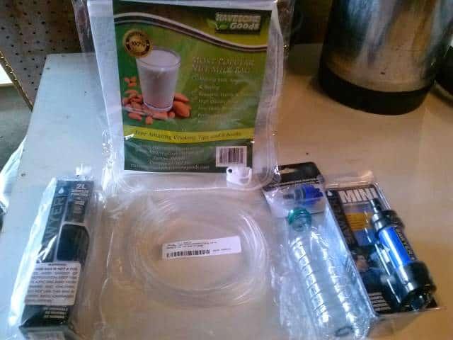 $75 MYOG Gravity Fed Water Filter System