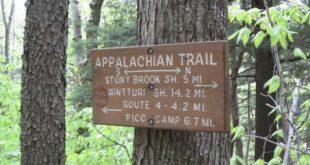 Vermont Appalachian Trail Sign