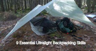 9 Essential Ultralight Backpacking Skills