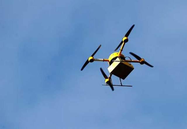 Google Express Triple Crown Drone