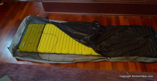 Mountain Laurel Designs Superlight Bivy Sack & Ultralight Bivy Sack Guide - Section Hikers Backpacking Blog