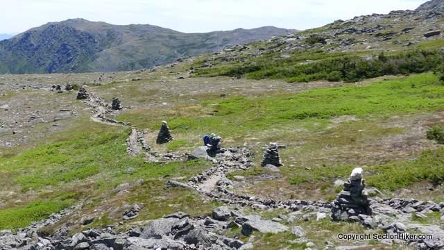 Rock Cairns Mark The Alpine Garden Trail Above Treeline On Mt Washington