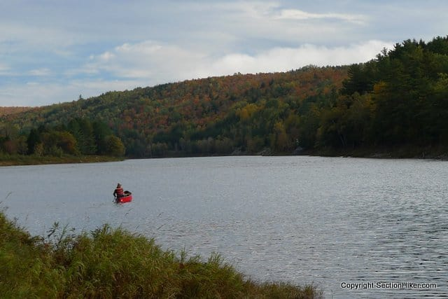 The Kennebec River Ferry on the Appalachian Trail