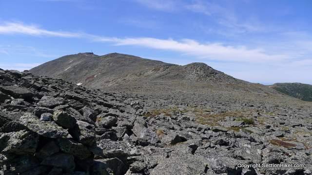 The Rockpile (Mt Washington) seen from the Nelson Crag Tableland