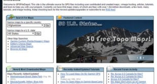 GPSFileDepot Home Page - Free GPS Topo Maps for Garmin GPS Receivers