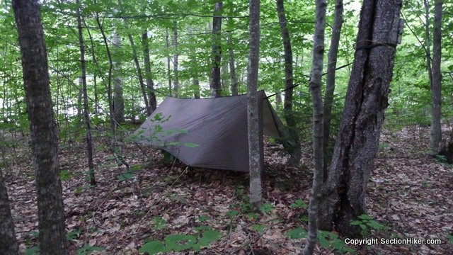 it u0027s easy to pitch a warbon  blackbird hammock anywhere you have two trees even if review of warbon  blackbird double layer hammock w  superfly      rh   sectionhiker