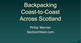 Backpacking across Scotland Slideshow