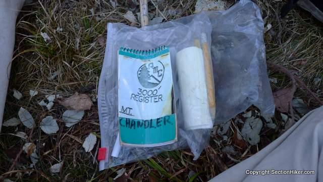 Mt Chandler Canister Log Book
