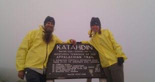 Beardoh and SweetPea on Mt Katahdin