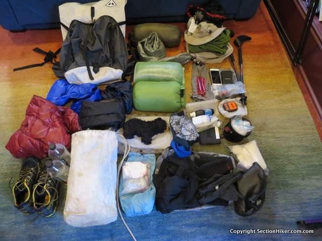821aea217c9a Appalachian Trail Section Hike Gear List - 2016 - NOBO - VA to PA ...