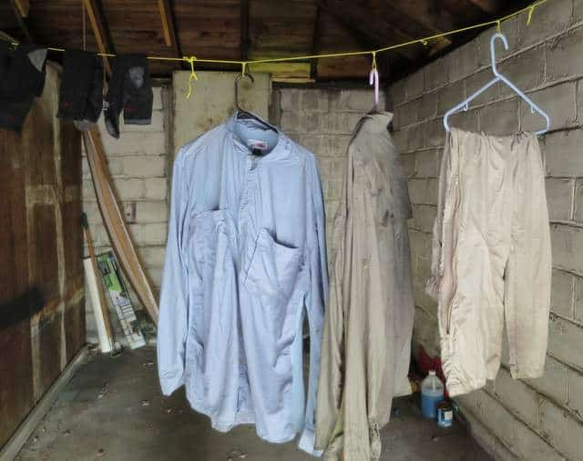 Once dry, the Permethrin treated clothing is ready to wear