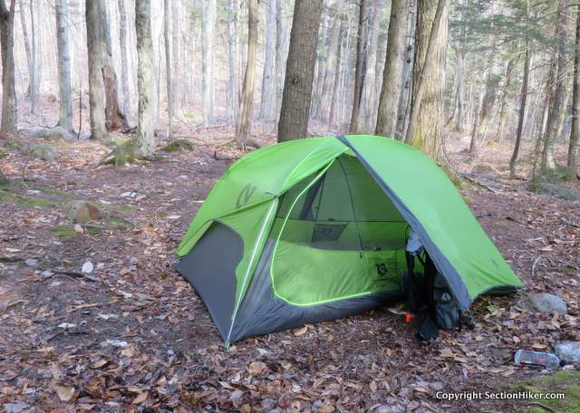 The Nemo Hornet 2P is an ultralight double-walled two person tent with two doors : neverwet on tent - memphite.com