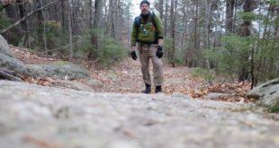 Philip Werner on Mt Chocorua