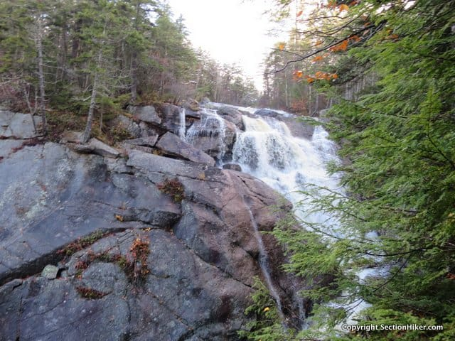 HarvardFalls is a 60 ft Waterfall located in Franconia Notch, White Mountains