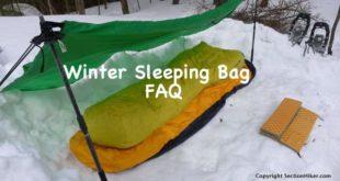Winter Sleeping Bag FAQ