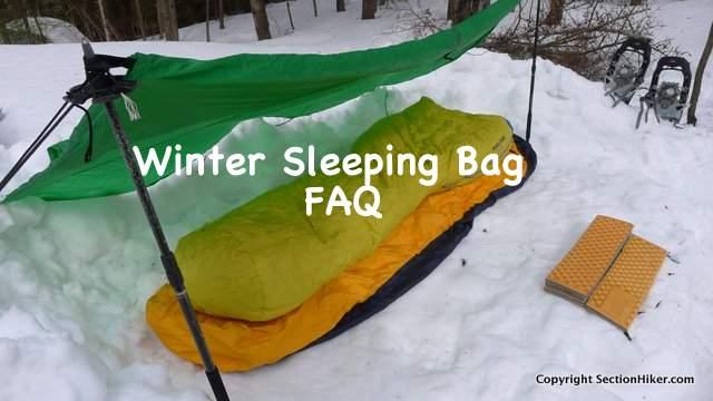 half off 12dac 1a075 The Winter Sleeping Bag FAQ: Practical Advice for Winter ...