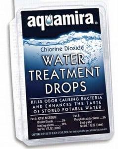 Aquamira Water Purification Drops